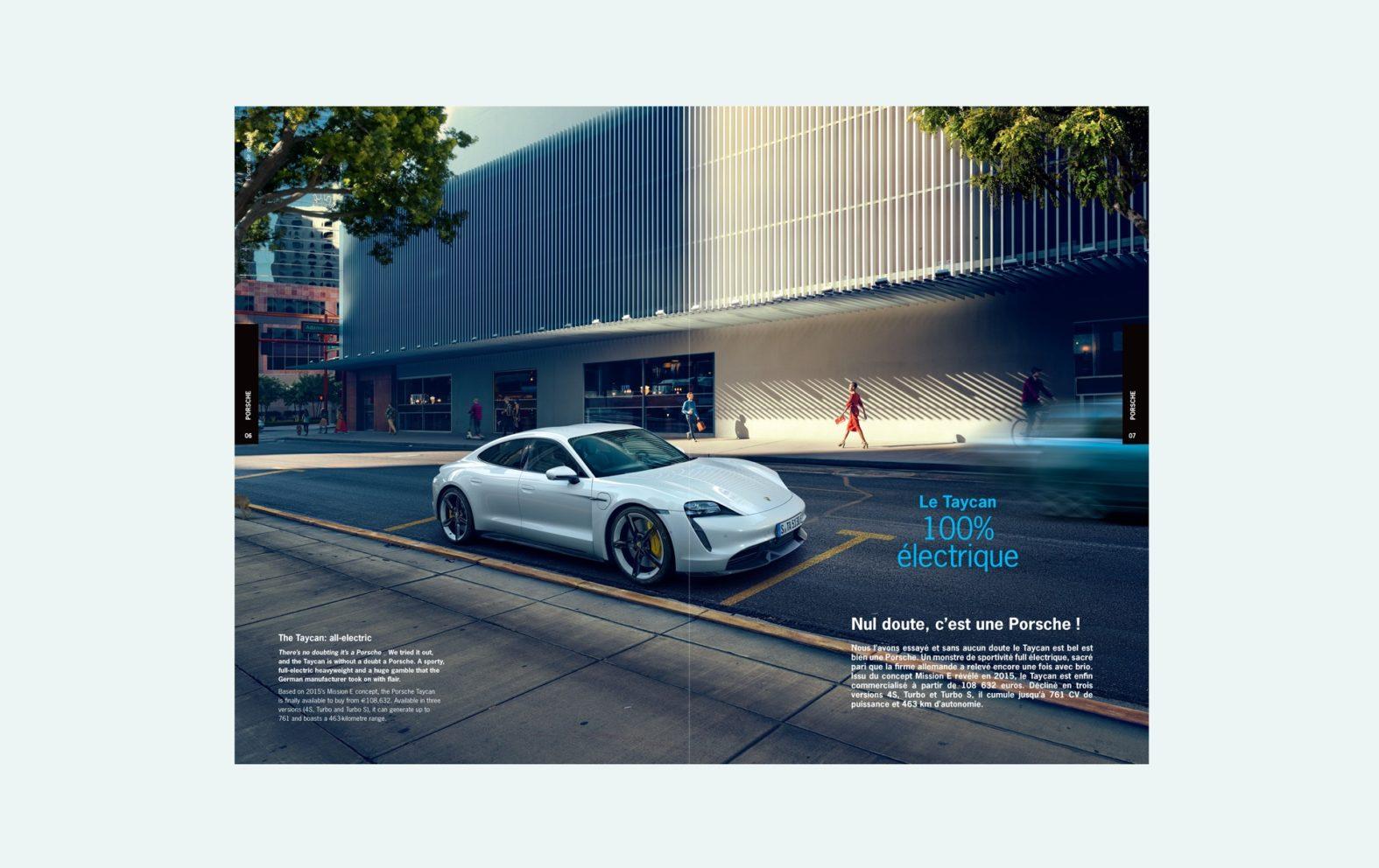Landeau Création Groupe Segond magazine page intérieure