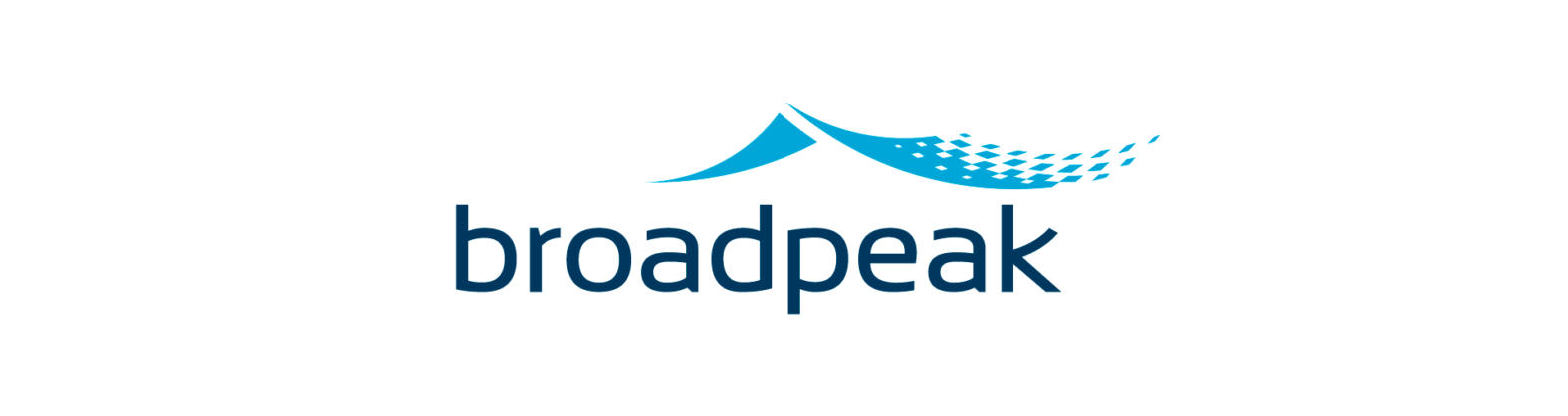 Landeau création Broadpeak logotype