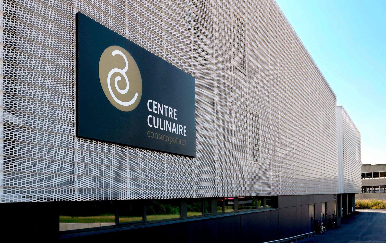 Landeau création Centre Culinaire Contemporain photo enseigne