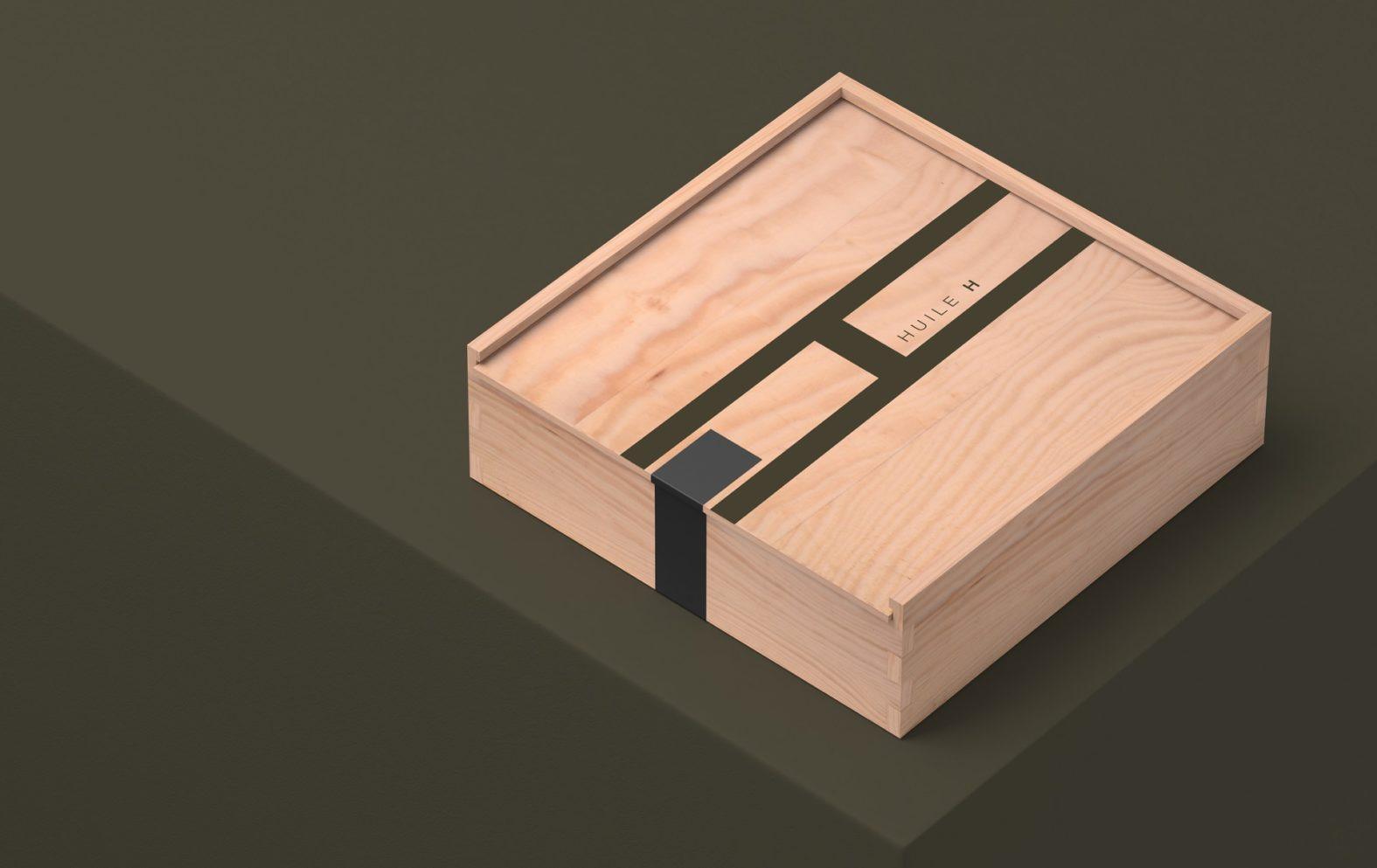 Landeau création Huile H boite