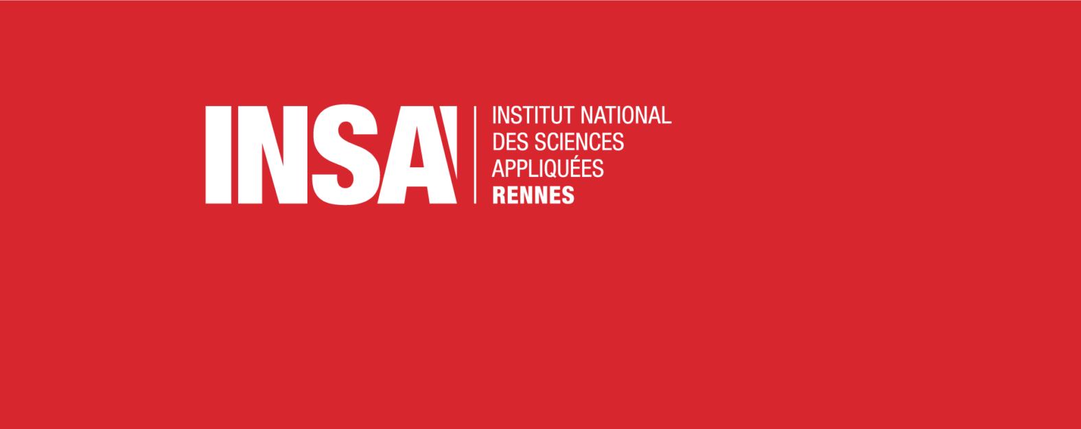 Landeau Création INSA directionnel signalétique