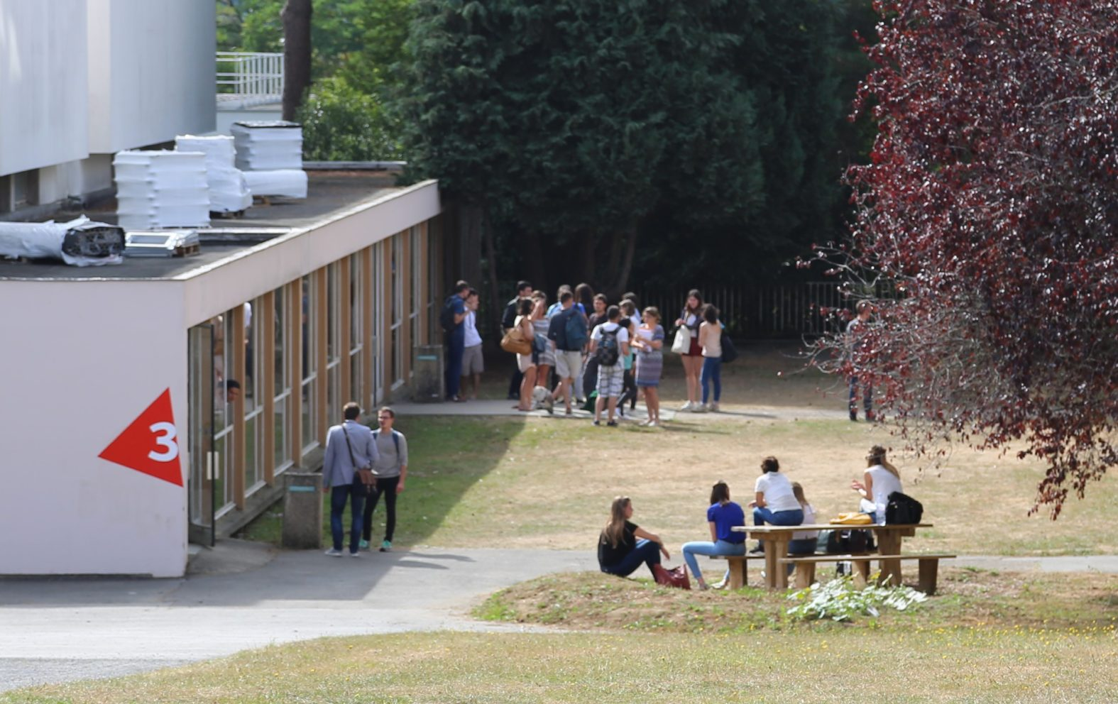 Landeau Création INSA photo signalétique campus