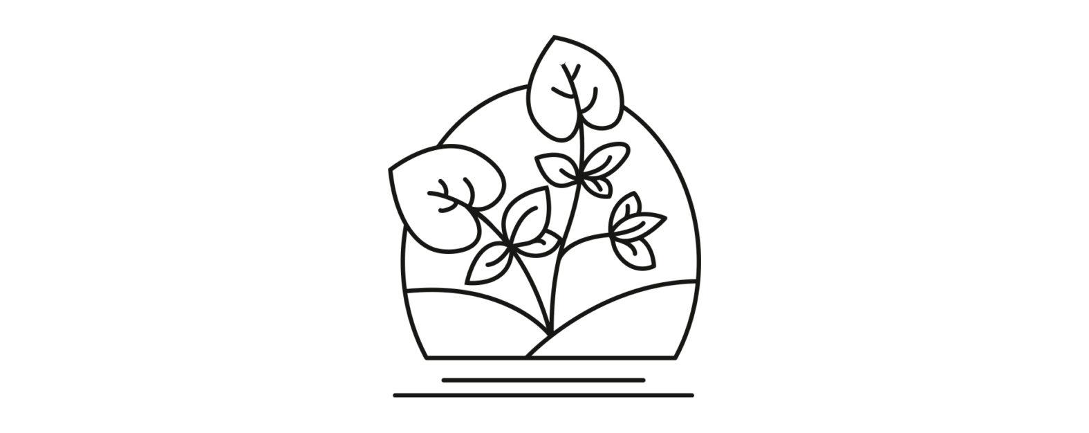 Landeau création La Cressonière picto logo