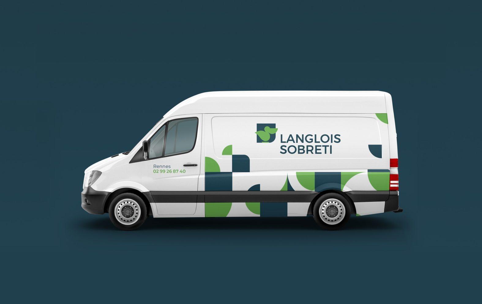 Landeau Création Langlois Sobreti camion