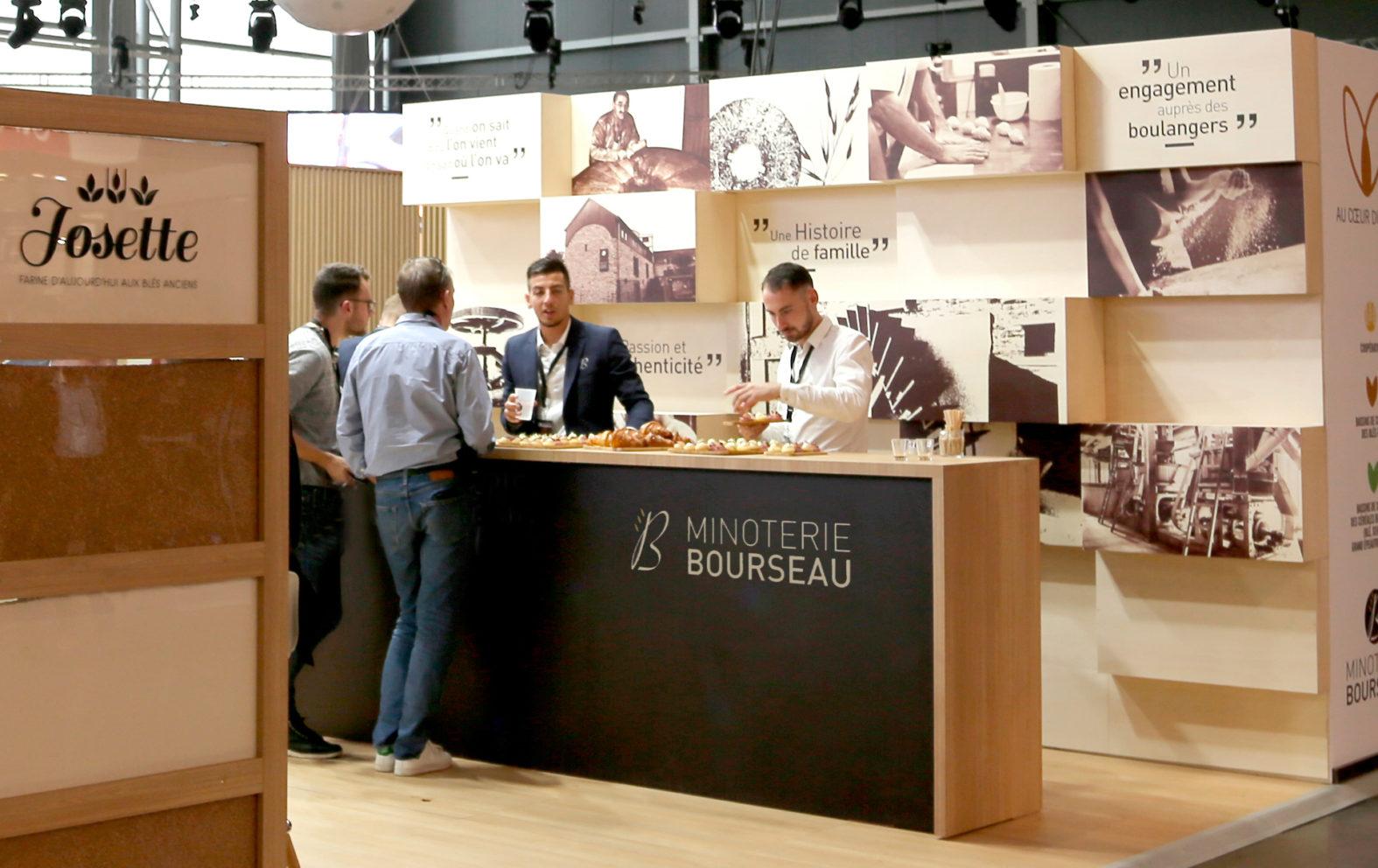 Landeau Creation Minoterie Bourseau Stand