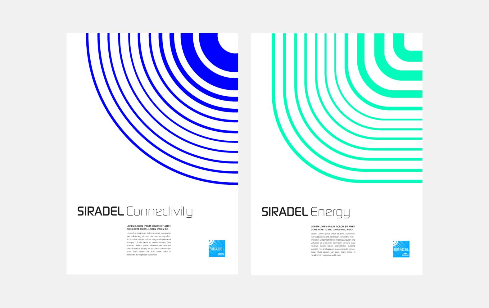 Landeau création Siradel affiches