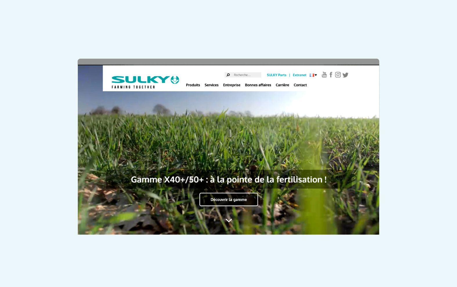 Landeau Création Sulky site web