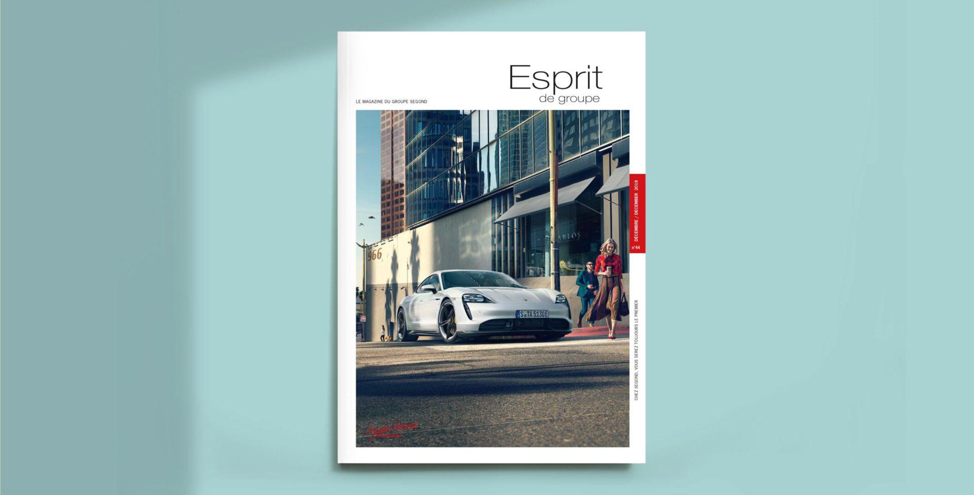 Landeau création Groupe Segond automobile couverture esprit de groupe 44