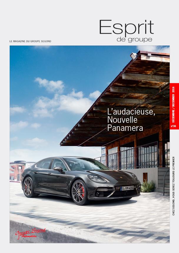 Landeau Création Groupe Segond magazine couverture numéro 36