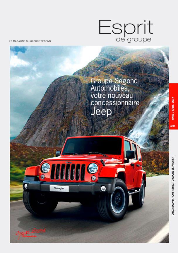 Landeau Création Groupe Segond magazine couverture numéro 37