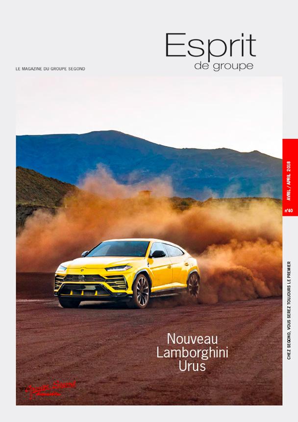 Landeau Création Groupe Segond magazine couverture numéro 40