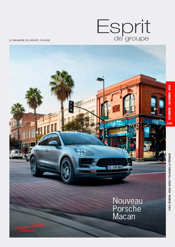 Landeau Création Groupe Segond magazine couverture numéro 42