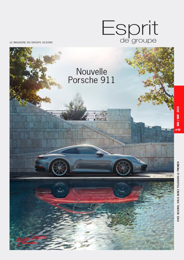 Landeau Création Groupe Segond magazine couverture numéro 43