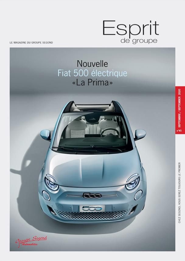Landeau Création Groupe Segond magazine couverture numéro 45