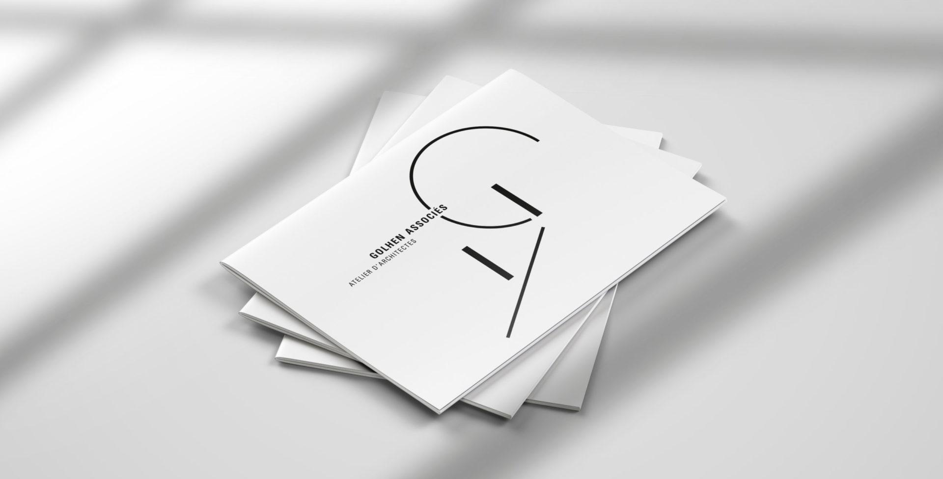 Landeau Création Golhen Architecte plaquettes
