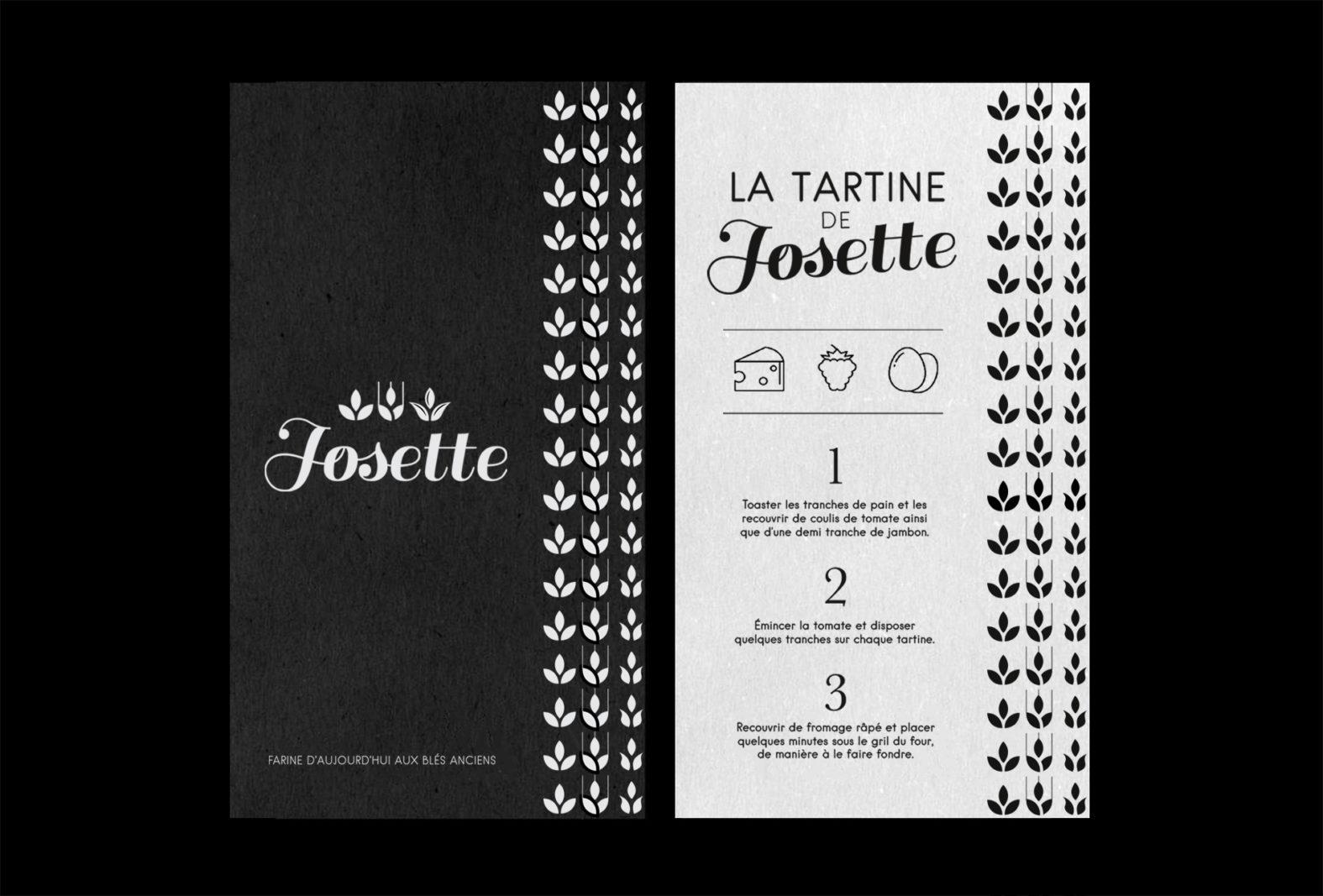 Landeau Création Graphique Josette flyer
