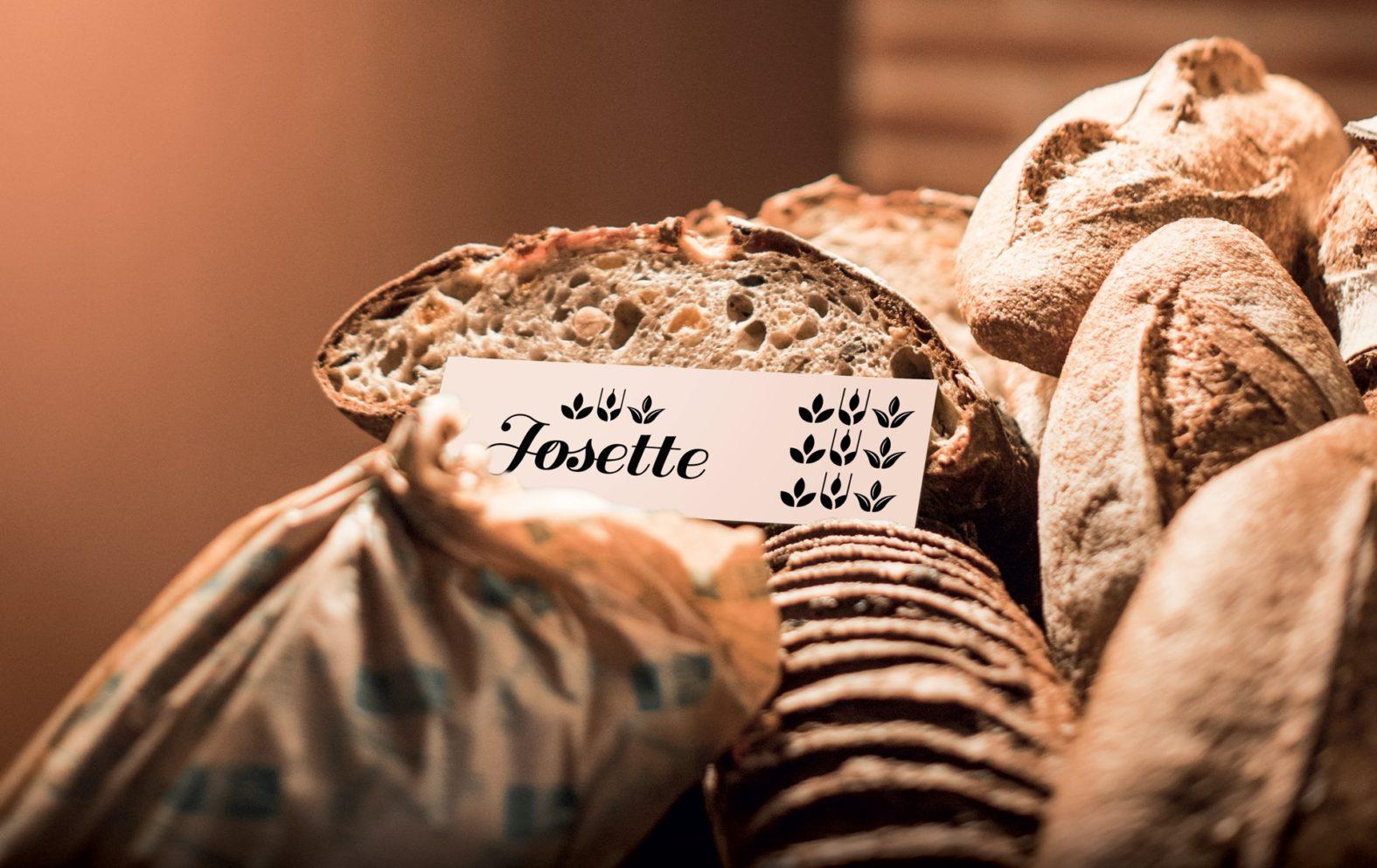 Landeau Création Graphique Josette étiquette pain