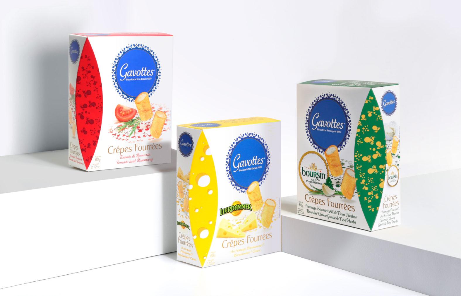 Landeau Création Loc Maria Gavottes packaging crêpes fourées
