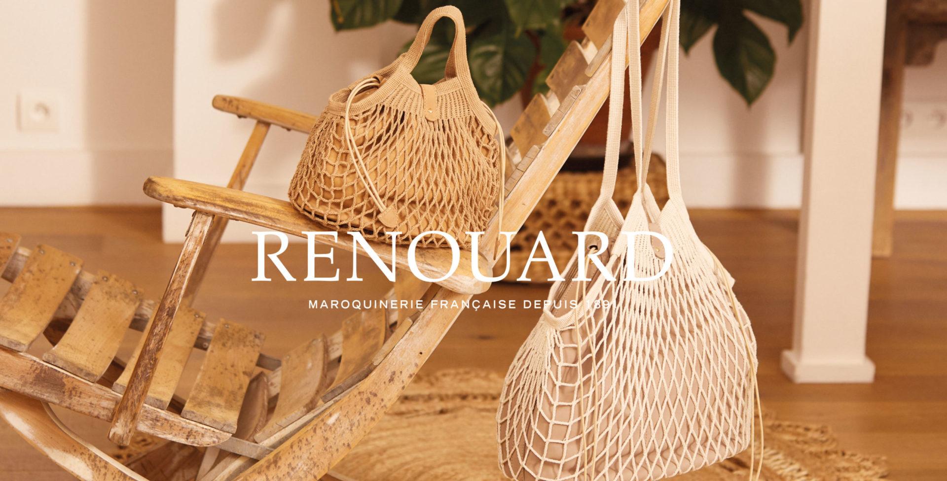 Landeau Création Maroquinerie Renouard photo d'Ambiance Sac filet